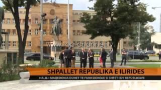 Shpallet Republika e Ilirids  Top Channel Albania  News  L