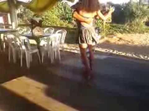 Forró de Itaúnas/2013, Márcio (Juruna) e Sarah Lutz (França), vídeo 1 de 4