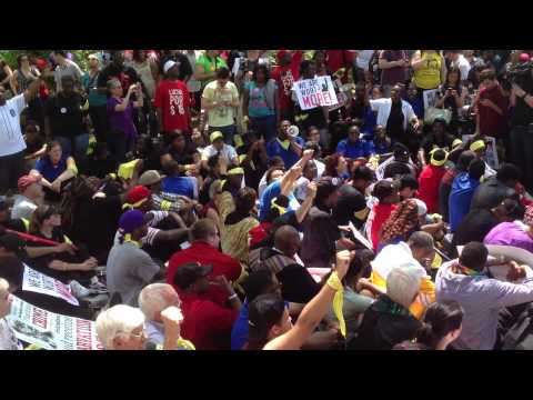 Arrests at McDonald's Shareholder meeting