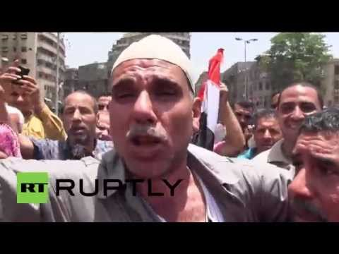Egypt: Thousands hit Cairo to celebrate el-Sisi's victory