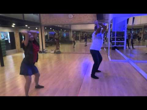 1234 Get on the Dance floor (Part1) Choreographed by Master Nareen in Aug.'13