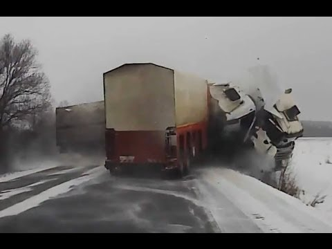 Car Crash Compilation №39 of 12 02 2014