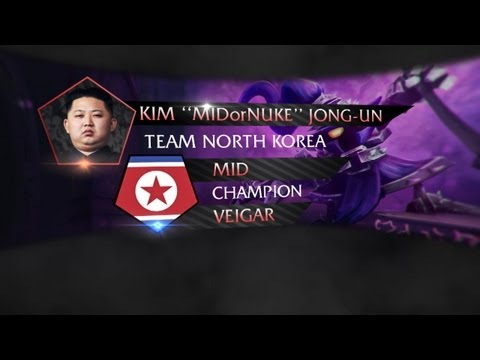League Of Legends Pro player picks: Kim Jong-Un