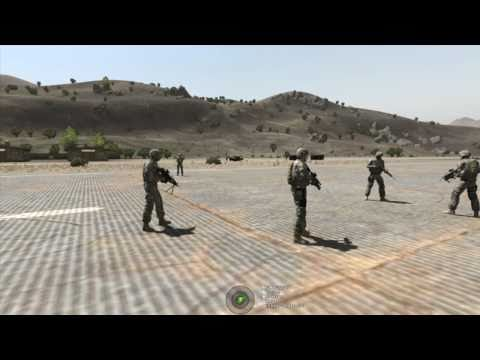Arma II + ACE 2 + ACRE - United Operations Infantry Training Grounds - Formations (Part 6 of 7)