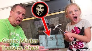 Opening Game Master's Abandoned Treasure Chest Found Sunken With Top Secret Map!