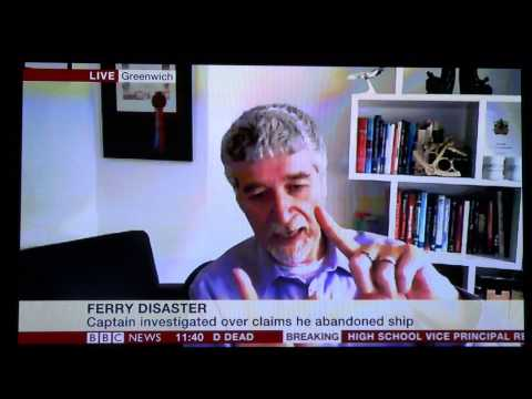 BBC NEWS24 TV interview concerning the Sewol sinking