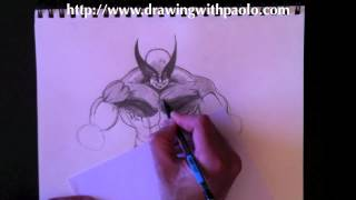 Drawing Wolverine (in The Rain) With Paolo Morrone