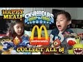 Skylanders Swap Force HAPPY MEAL TOYS from McDonald's