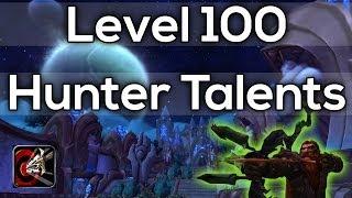 Warlords Of Draenor Beta Level 100 Hunter Talents