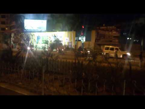 Bangalore - Bommanahalli to Electronics City Route - Night Travel