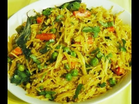 Sevai Upma (Spicy Noodles, Indian style)