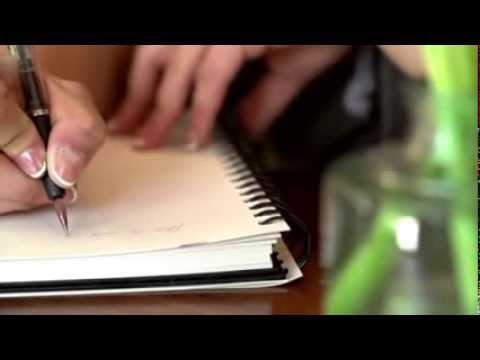 WINKpens - An innovative glass pen writes with wine, juice and beer.