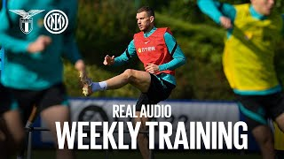 REAL AUDIO | WEEKLY TRAINING | #LazioInter #IMInter ⚫️🔵⚽?