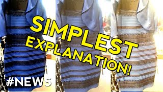 The Dress Mystery Color Explained - SIMPLEST EXPLANATION