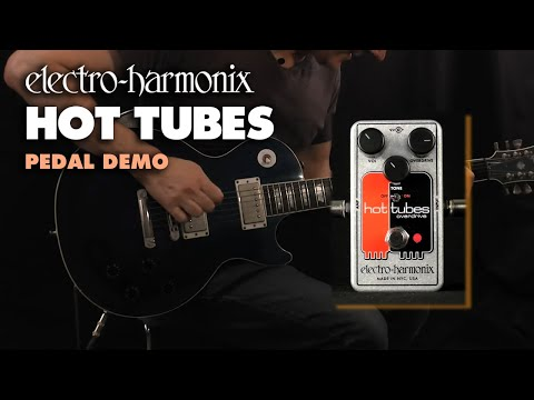 Electro Harmonix Hot Tubes CMOS Overdrive Effects Pedal for Guitar