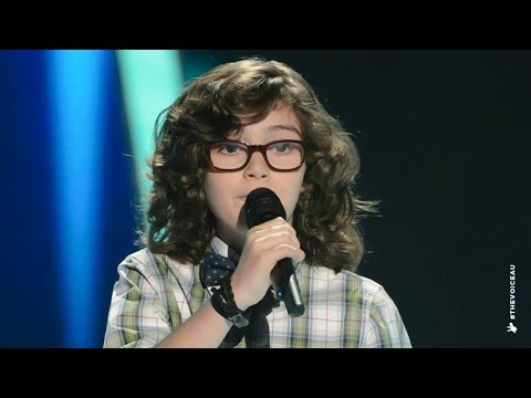 Jordan Sings Locked Out Of Heaven | The Voice Kids Australia 2014