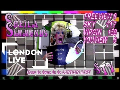 Sheila Simmonds - What NO LONDON LIVE !