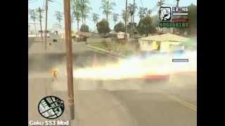 (GTA San Andreas) Goku SS3 Mod (NO LINKS)
