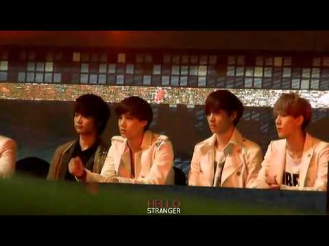 [fancam] 121229 EXO Kai Sehun Lay at SBS Gayo Daejun