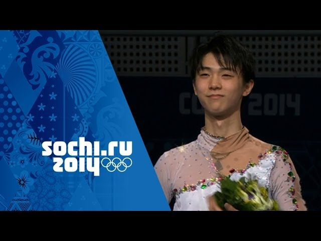 Figure Skating - Men's Free Skating - Yuzuru Hanyu Wins Gold | Sochi 2014 Winter Olympics