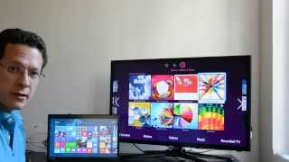 Miracast Wireless Display With Windows 8.1 Stream PC To