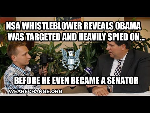 NSA Targeted Barack Obama Before He Became A Senator