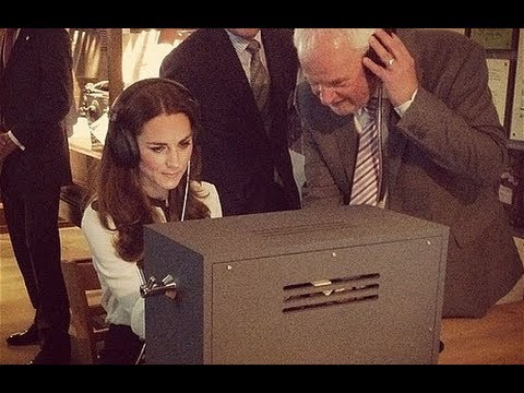 Duchess of Cambridge cracks code at Bletchley Park
