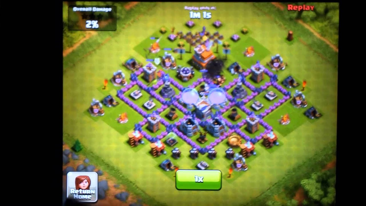 Clash of Clans Town Hall Level 7