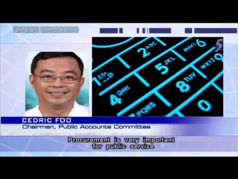 Parliament's Public Accounts Committee concerned over continuing procurement lapses - 01Apr2014