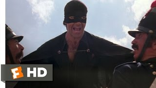 The Mask Of Zorro (7/8) Movie CLIP The Horse Thief (1998) HD