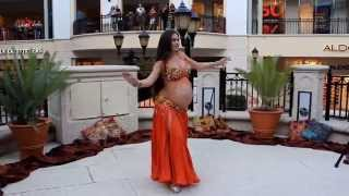 Portia of Belly Motions dances at 9 months pregnant!
