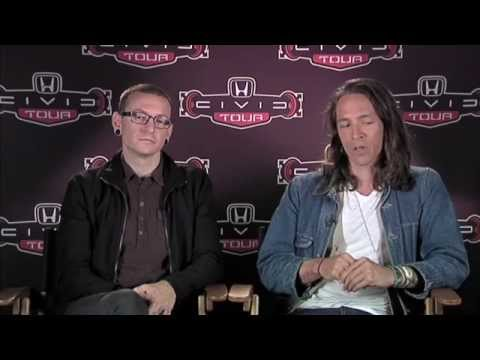 LINKIN PARK, INCUBUS EXCLUSIVE INTERVIEW - HONDA CIVIC TOUR 2012