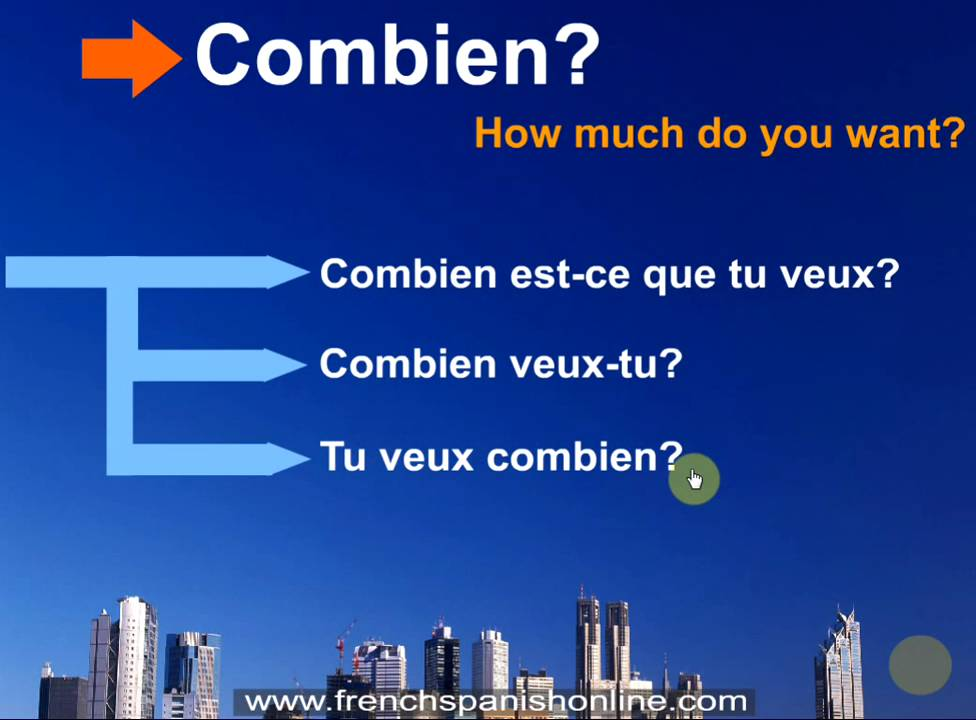 how to ask can i have in french