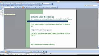 How To Make Your Online Visa Application To The UK Border