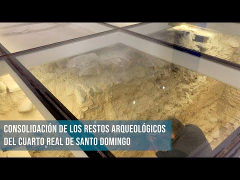 Video de los trabajos de consolidación y conservación preventiva de los restos arqueológicos