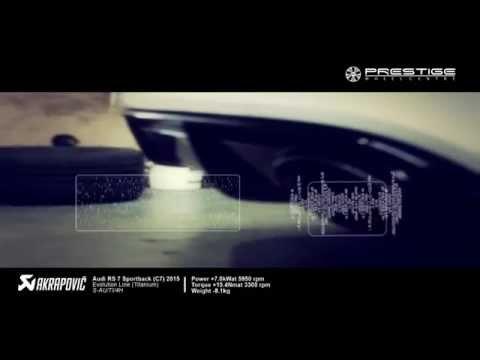 Akrapovic Exhaust Audi RS7 C7 Evolution line