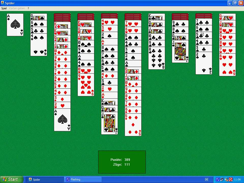 solitaire spider free download windows xp