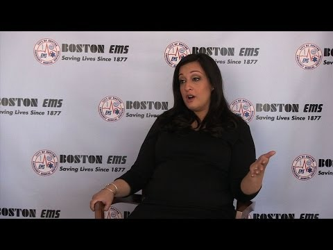 Baby of Boston EMT at marathon bombing due around race day