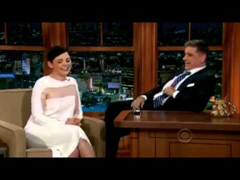 Ginnifer Goodwin Craig Ferguson 10 Oct 2013