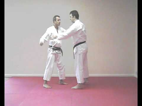Bassai Dai kata bunkai - practical application