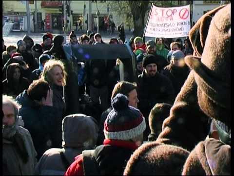 Demonstrace proti ACTA 2.2.2012