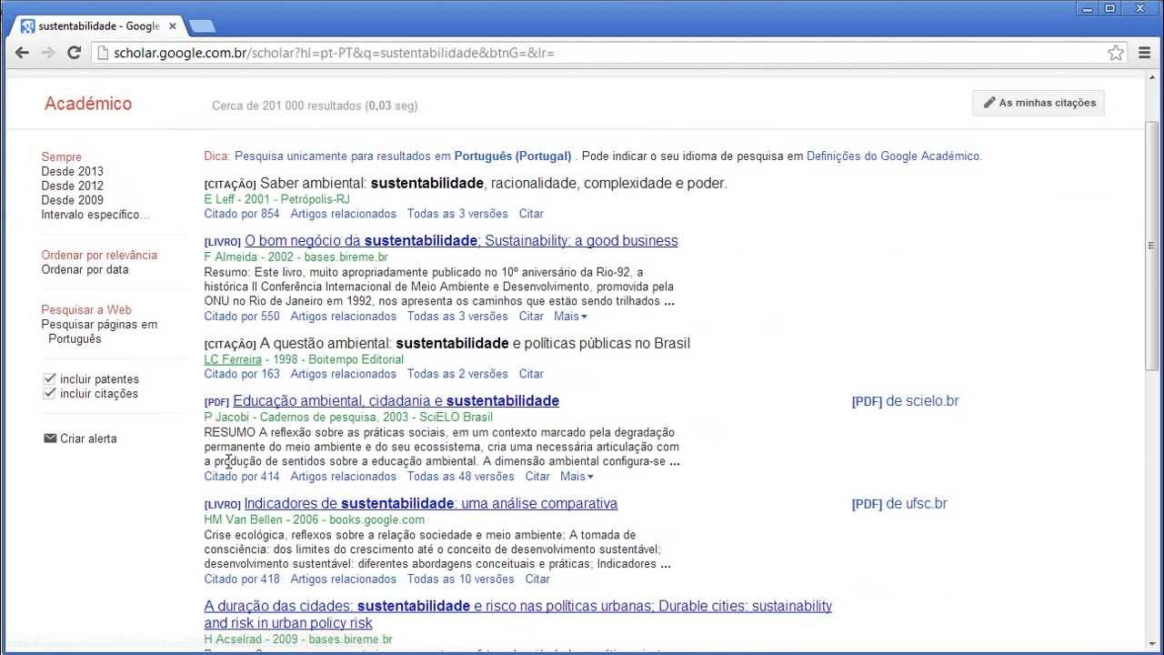 Google academico artigos cientificos