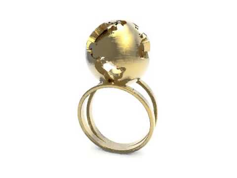 Globe Ring Animation