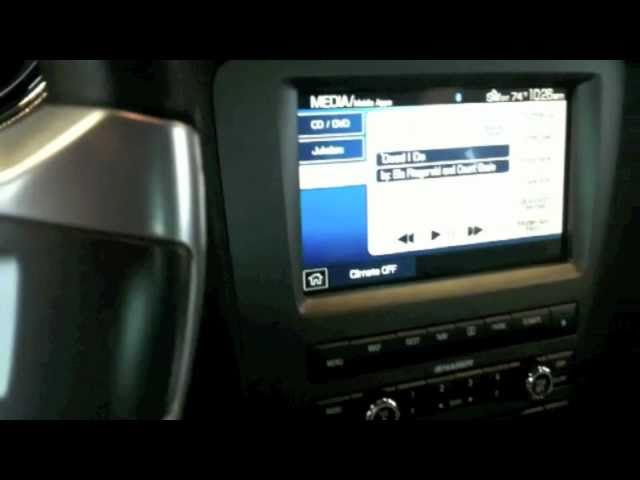 Pandora Internet Radio Station on Ford Mustang