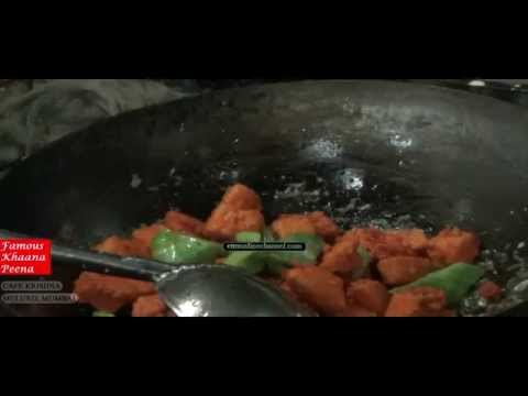 CHINESE DISHES & RECIPES at CAFE KRISHNA - Mumbai, India - FAMOUS KHAANA PEENA
