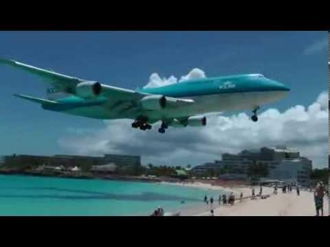 اجمل هبوط لطائرة بوينغ 747, هبوط رائع لا يفوتكم