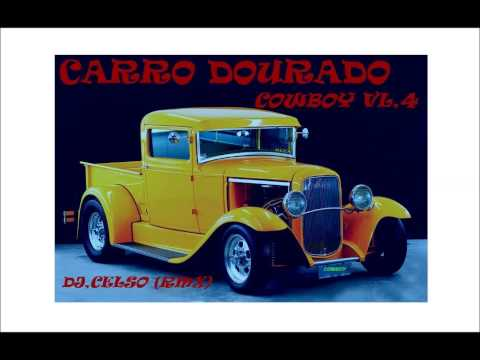 DJ CELSO-CD CARRO DOURADO COWBOY-VL,4 COMPLETO