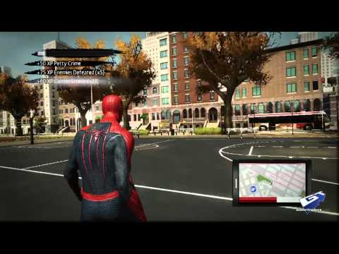 The Amazing Spider-Man - Exclusive Developer Diary: Manhattan is Your Playground, Web rush revolutionizes swinging around Manhattan in The Amazing Spider-Man.