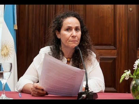 Argibay presentó el modelo de gestión de la Oficina de la Mujer de la Corte