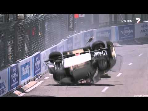Brendon Tucker Massive Crash @ 2013 Aussie Racing Cars Sydney